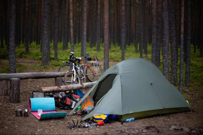 установка палатки старого образца - фото 8
